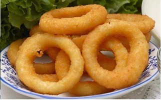 fried onion rings