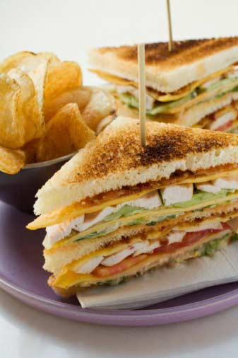 Club Sandwich (by chef Zakir)