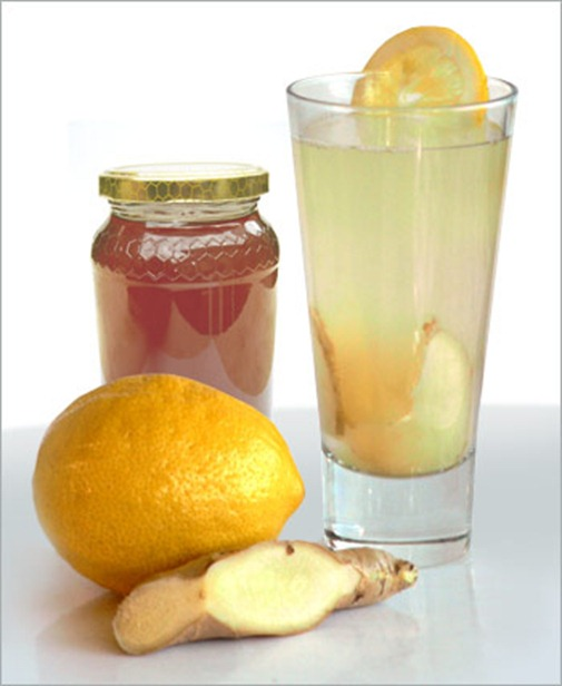 lemon ginger thumb Hot Lemon Drink: Recipe‏