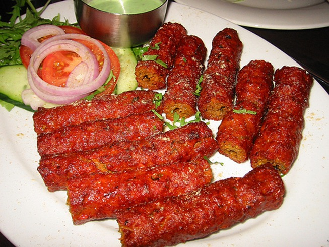 seekh kebab thumb Seekh Kebabs (By Chef Zakir): Recipe
