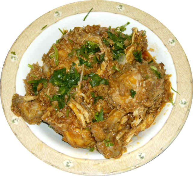 lukhnowi chicken