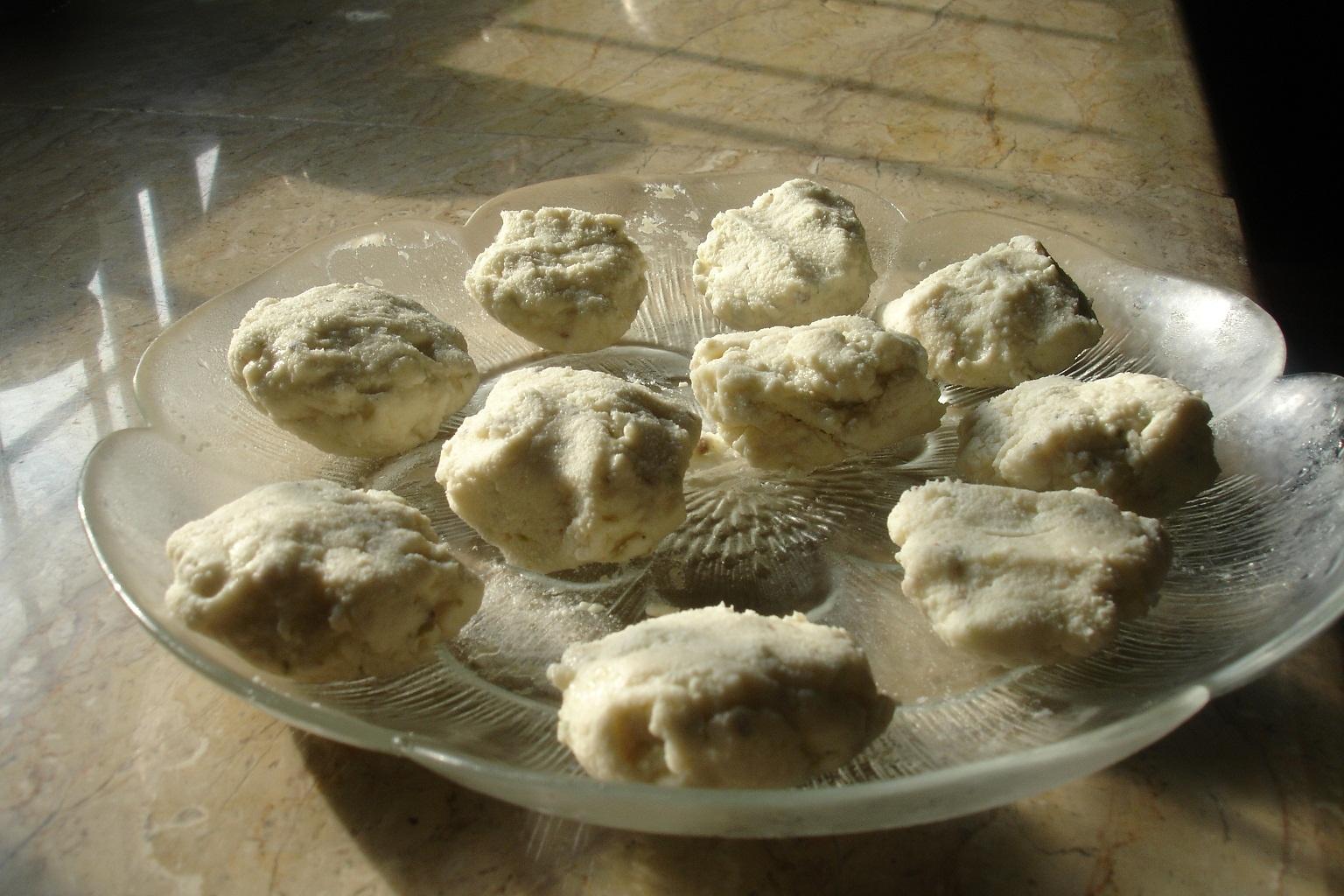 baked sandesh