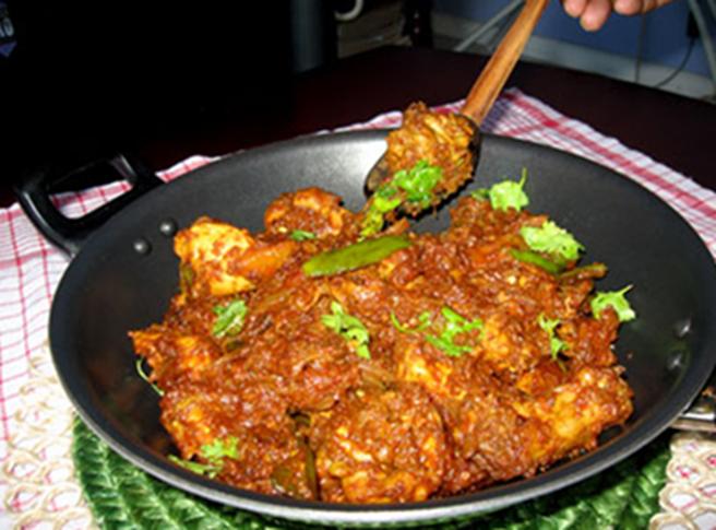 shikarpuri chicken karahi