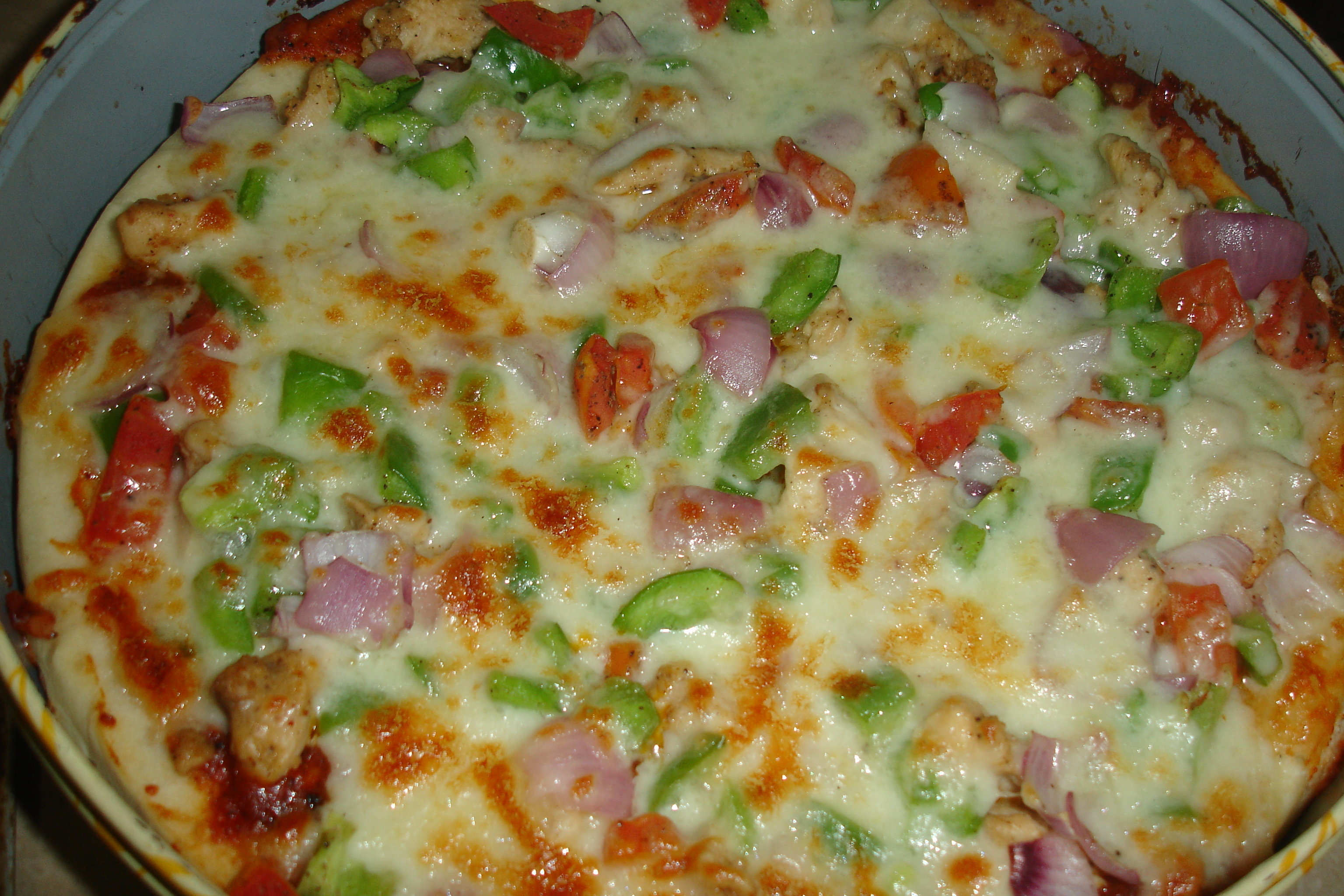 002 Tandoori Chicken Pizza (By Chef Gulzar): Recipe
