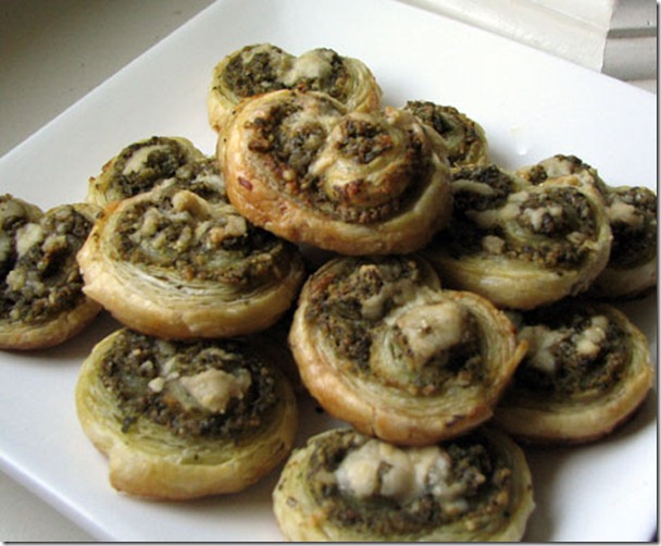 olive and almond palmiers