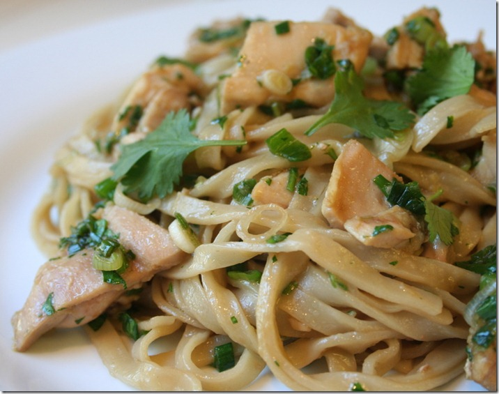 thai chicken noodles