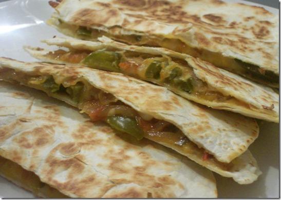 mexican chili chappatti