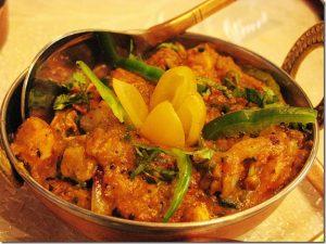 spicy chicken karahi