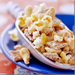 spiced nutty popcorn