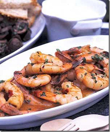 Garlic And Chili Prawns