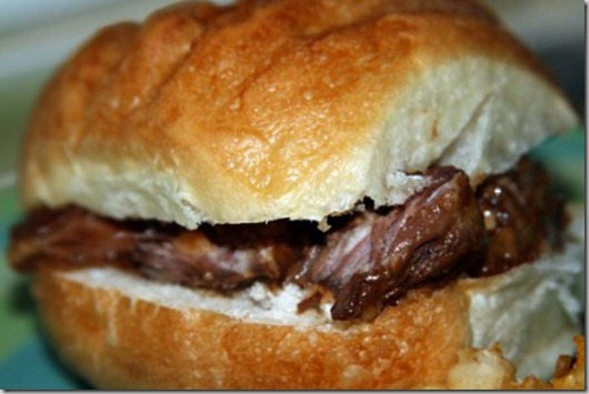 barbeque sandwich
