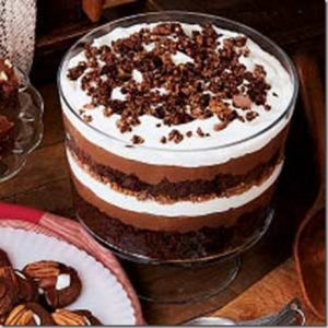 chocolate biscuit trifle
