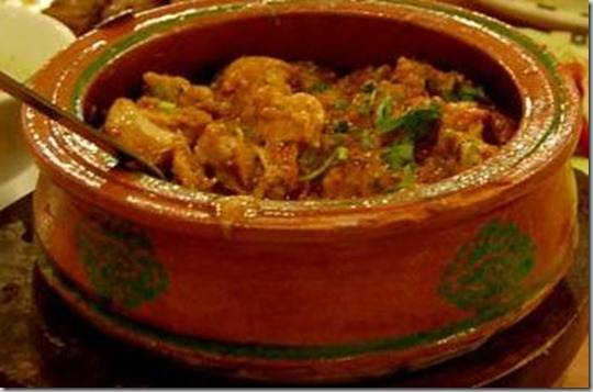 creamy chicken handi