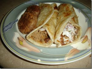 shami kebab rolls