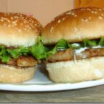 Hot And Spicy Chicken Burger