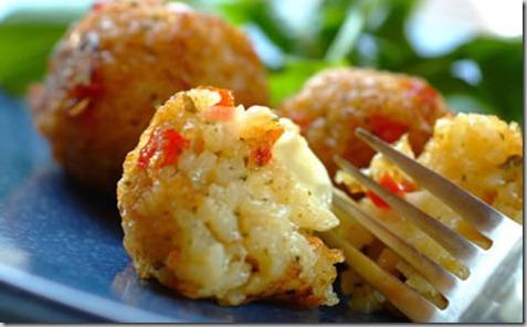 rice cheese balls