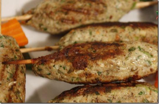 Kafta kebab