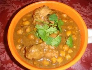 chicken chana masala