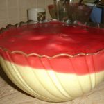 Custard With Strawberry Sauce Recipe