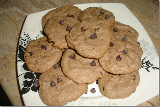 chewy chocolte chip cookies