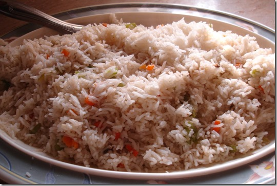 fried rice thumb Chinese Egg Fried Rice (By Chef Zakir): Recipe