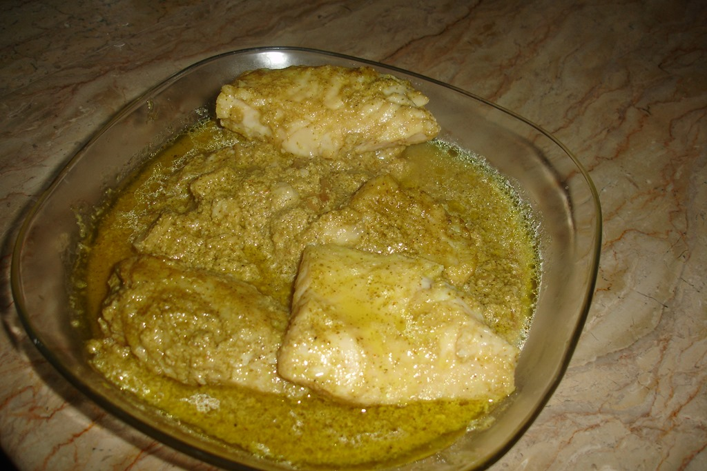 fish green masala recipe