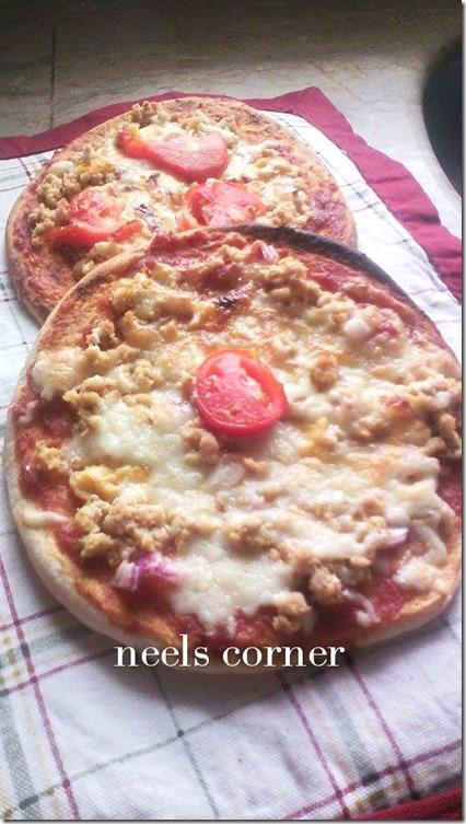 pita bread pizza