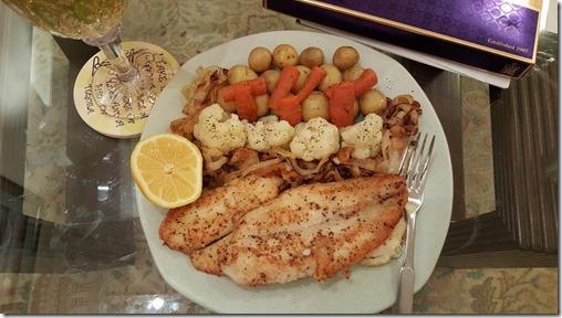 lemon steamed fish