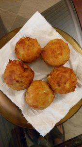chicken and cheese balls