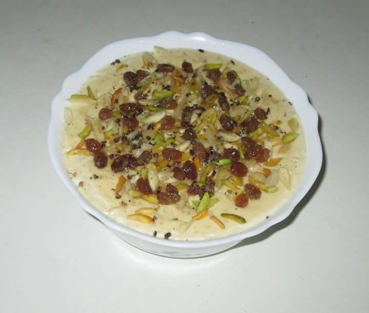 Sweet porridge