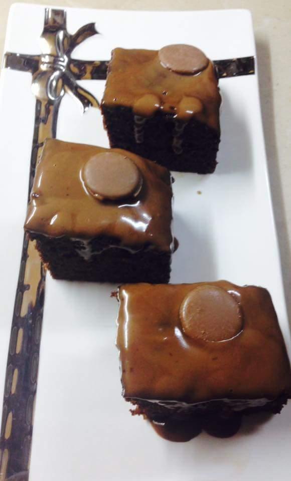 chocolate mocha brownies