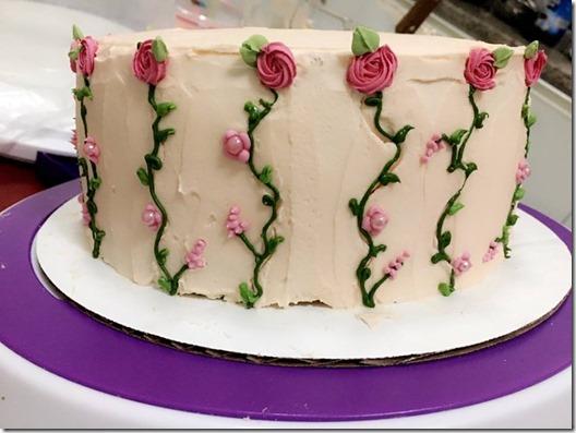 vanilla cake 2
