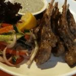 steamed mutton chops