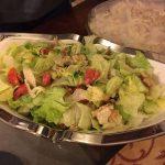 keto chicken caeser salad