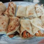 chicken tandoori paratha roll
