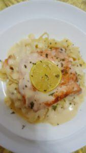 fish in lemon butter sauce