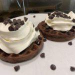 keto chocolate chaffles