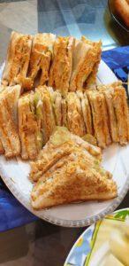 fried tandoori sandwich