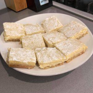 zesty keto lemon bars